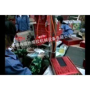 供应热熔胶喷胶机-彩盒包装、礼盒包装、月饼盒、茶叶盒包装涂胶机