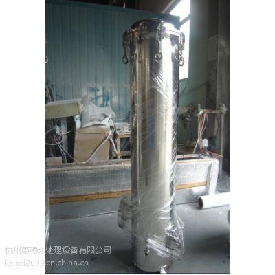 供应15T/H 12芯不锈钢304 吊环法兰精密过滤器