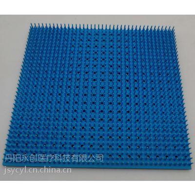 供应医用硅胶垫消毒盒清洗托盘硅胶垫(长齿)