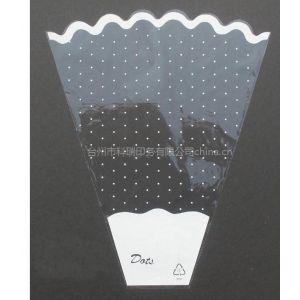 供应塑料印刷鲜花包装袋 Bopp