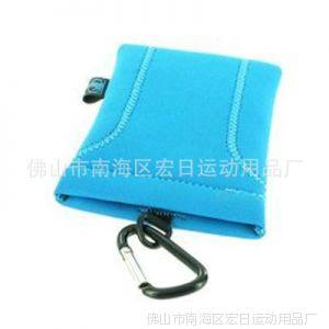 供应厂家直销 蓝色女式手机袋 防辐射布艺手机袋量多优惠