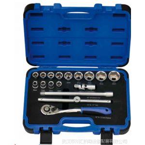 供应美国TEMO17件公制套筒扳手组套(1/2寸方)TMSK80