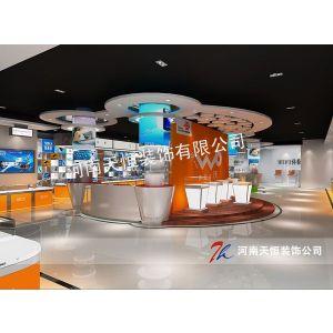 供应手机店面装修色彩搭配问题 郑州手机卖场装修设计装饰,手机店装修设计