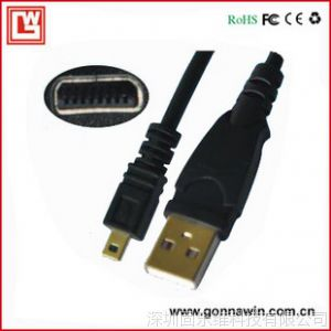 供应OLYMPUS奥林巴斯数码相机USB数据线 FE230 FE240 FE250 FE280