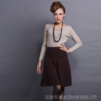 女式新款貂绒衫女纯貂绒毛衣生产厂家东莞大朗广州 女装生产加工定制