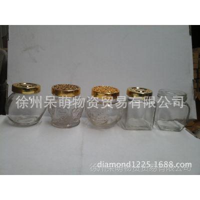 高档高白料高透明度玻璃密封罐 配硅胶垫 密封效果超好!