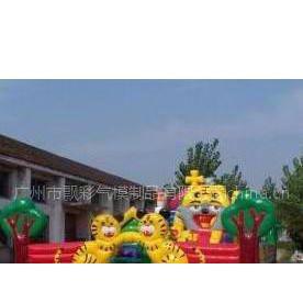 供应中山充气儿童乐园产品 充气大型蹦蹦床气垫游泳池 气垫城堡游戏
