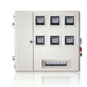 量大优惠大华牌IC卡玻璃钢电表箱 6户预付费电表箱 山东动力箱厂家