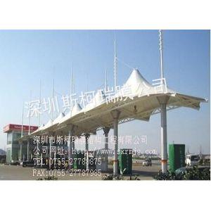 供应宁波收费站膜结构/收费站张拉膜