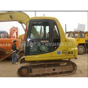 供应上海二手挖掘机市场 二手小松pc200-6挖掘机价格
