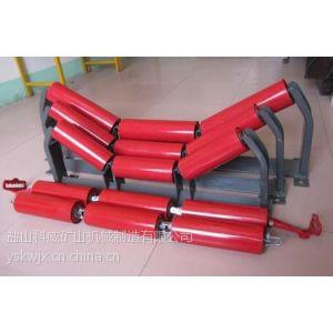 供应盐山科威专业生产优质槽型调心托辊 平行上(下)调心托辊