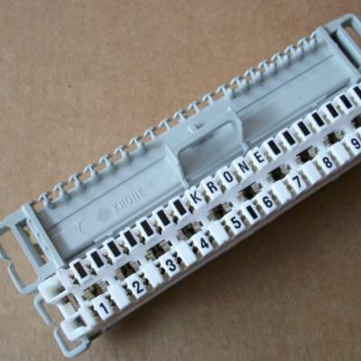 供应10对卡接模块 10对科隆模块 100对音频配线架