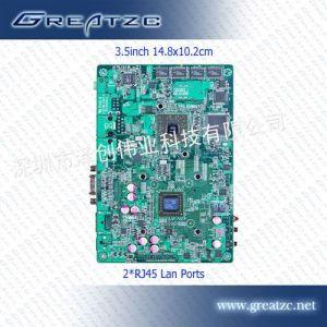供应工控商用3.5寸主板 双核 支持1080P 工业电脑 ZC35-A56DL