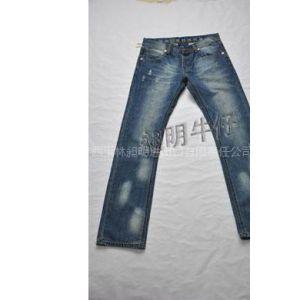 B-201174    2011时尚牛仔男裤,接受各类订单,来料来样加工及生产