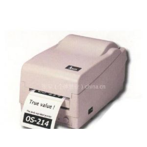 供应条码打印机 立象OS-214TT条码打印机,轻巧,打印洗水唛 铜版纸 热敏纸
