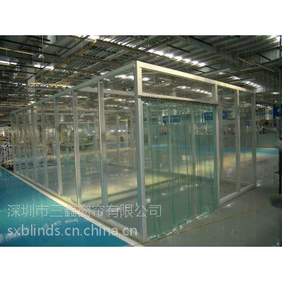 供应深圳PVC软门帘透明门帘隔热门帘空调房门帘