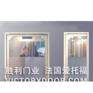 胜利门业供应透明软门 PVC软门 PVC透明软门