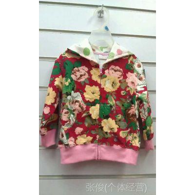 韩版 儿童外套 秋款童装女童风衣批发 女童外套 外贸童装原单批发