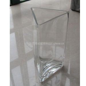 海成供应方缸花瓶H41高档摆饰玻璃