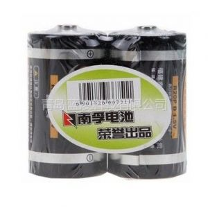 供应原装正品南孚电池 耐能1号电池 燃气灶手电筒大号电池 2粒装