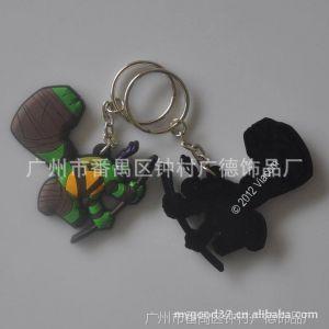 供应厂家直销,来稿定做,日本卡通PVC软胶公仔造型钥匙扣