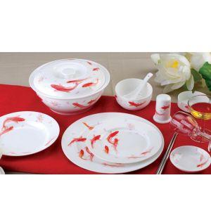 供应定做各种宾馆用陶瓷餐具、高档陶瓷套装餐具