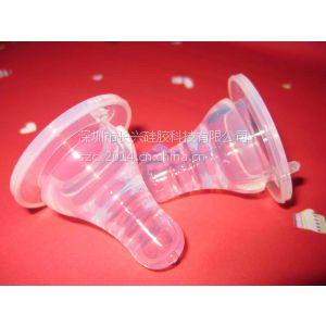 供应液体硅胶高透明标准口径母乳实感奶嘴