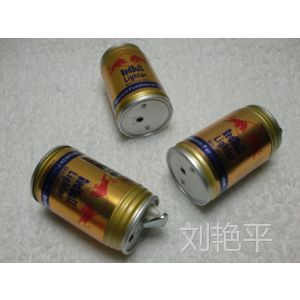 供应红牛饮料瓶 易拉罐 创意金属防风打火机图片