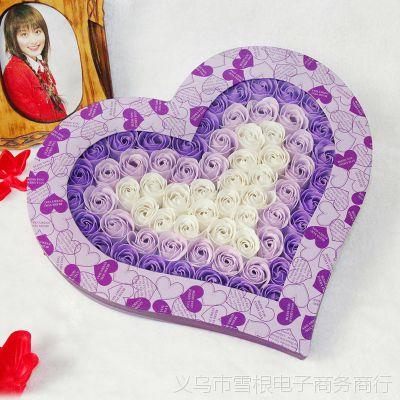 玫瑰香皂花 送给女朋友的惊喜礼物送老婆结婚纪念日礼品生日礼物