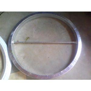 供应带筋型金属缠绕垫片,换热器金属缠绕垫片