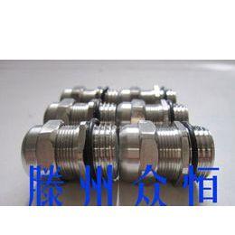 供应优质不锈钢电缆防水接头/厂家直销