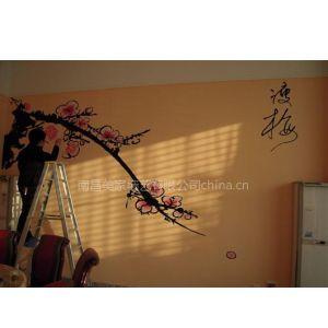 供应南昌背景墙彩绘手绘/南昌电视机背景墙彩绘手绘!专业 时尚!