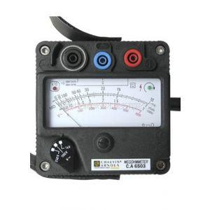 供应手摇式兆欧表/绝缘摇表(法国特价)低价促销 型号:FR/CA6503(豪华版)库号:M385865