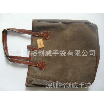 深圳龙岗手袋厂直销  高档PU  2013新款时尚女包  可订做手提包