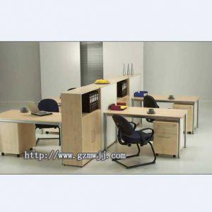 供应广州时尚办公台 职员办公台 办公电脑台定做厂家