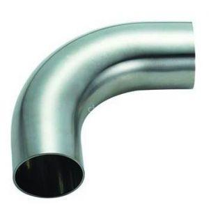 供应卫生级90°焊接弯头、不锈钢卫生级弯头、不锈钢焊接弯头