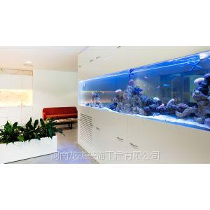 供应郑州玻璃隔断之鱼缸型隔断