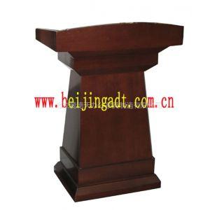 讲台直销 主席台演讲用品 木质组装结构 北京厂家生产