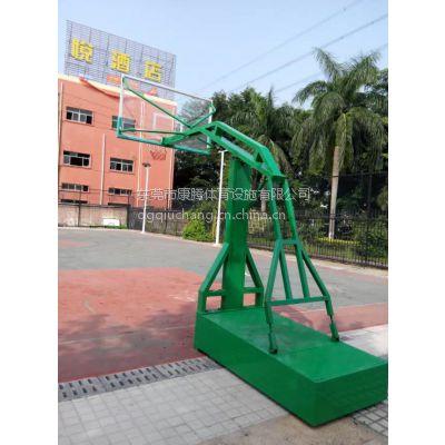 广东东莞凹箱移动带轮篮球架 厂家直销 质量保证