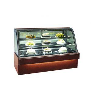 供应豪华卧式单弧度冷藏展示柜TB568A