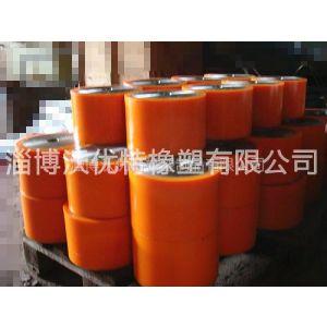 供应长期使用不变形聚氨脂挂胶 各种铝板铁板挂胶 低硬度轮子胶辊挂胶