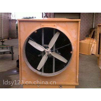 菱电实业横出风冷却塔厂家 菱电横出风冷却塔100T 100T方形冷却塔厂家