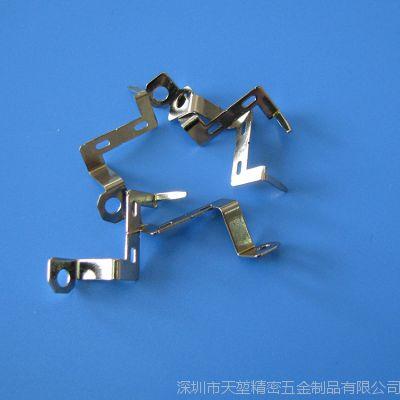 供应各种规格不锈钢五金配件触片弹片 优质五金电器弹片冲压