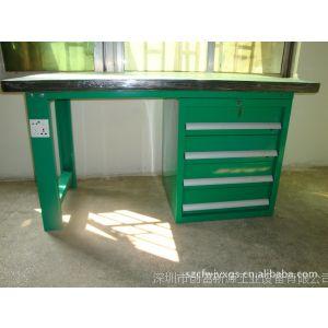 供应钢木结构钳工桌生产商,台虎钳钳工桌图片,四抽钳工桌价格