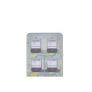 供应四表位防窃电型全透明电表箱 四表位玻璃钢电表箱