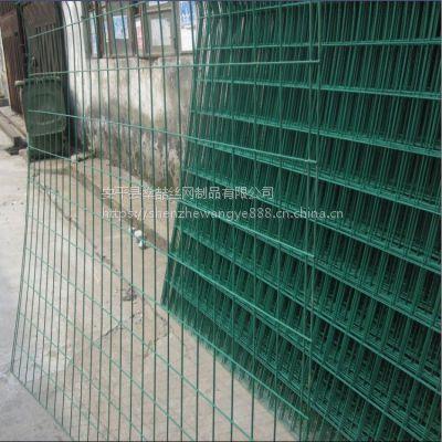 球场道路交通铁丝网 定制小区安全隔离双边丝护栏网
