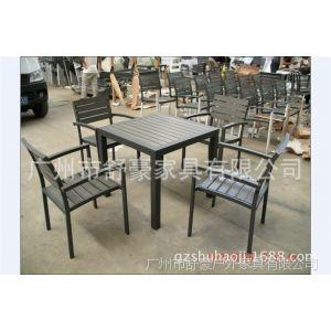 供应上海塑木家具批发、宁夏环保塑木家具桌椅 户外、成都咖啡厅桌椅