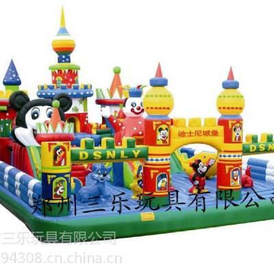 大型儿童充气城堡 四川重庆充气城堡跳跳床 经典款式迪士尼乐园