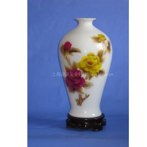 供应麦草画陶瓷瓶/纯手工麦草制作陶瓷工艺花瓶