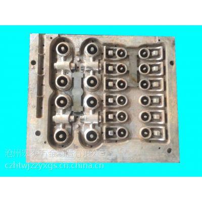精品推荐高品质覆膜砂热芯盒铸造模具、顶箱漏模模具